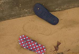 Sandalfootprintad