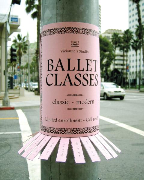Balettimainos
